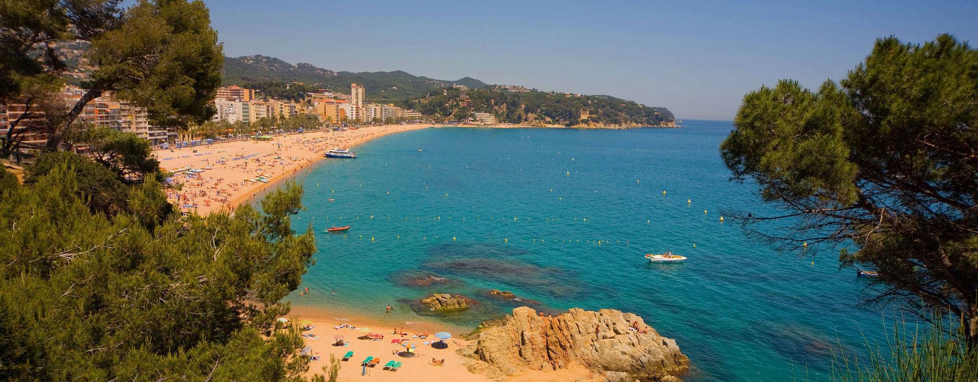 Испания коста брава фото пляжей и набережной