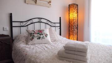 tweepersoons bed slaapkamer 1