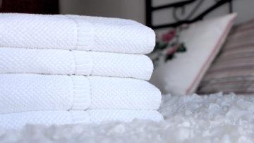 badlinnen handdoeken